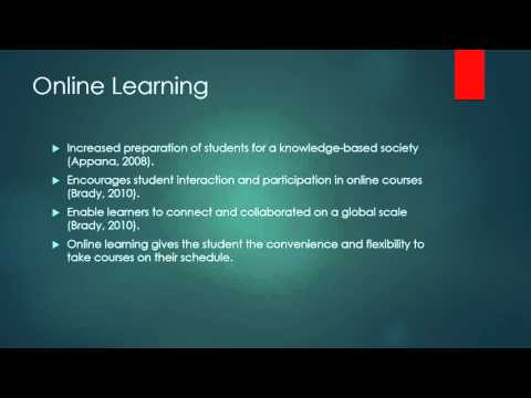 Adult Education And Online Learning