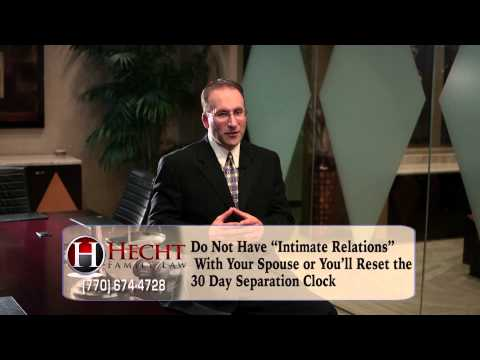 Atlanta Separation Lawyers-Separation Attorneys In Atlanta GA-How Long Before Divorce Call(678)203-5940 or visit http://www.hechtfamilylaw.com for a FREE GA divorce guide!  Household problems are unfortunately, fairly typical. Not every marriage leads to...