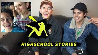 One of Dom Zeglaitis's most viewed videos: FUNNY HIGHSCHOOL STORIES! ft. David Dobrik