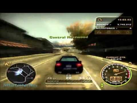 Need For Speed Most Wanted - 30 Minutes Hot Pursuit (Heat Level 7)