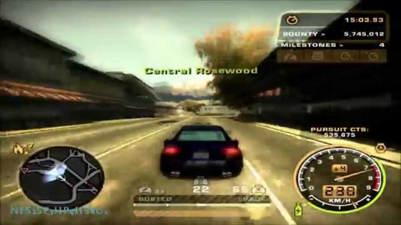 Need for speed most wanted 30 minutes hot pursuit heat level 7 youtube