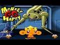 Monkey GO Happy Sci-fi Full Levels Complete Walkthrough