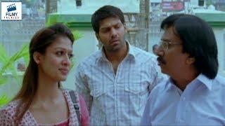 Nayanthara Teasing Arya | Nene Ambani Telugu Movie Scenes | Filmy Talkies