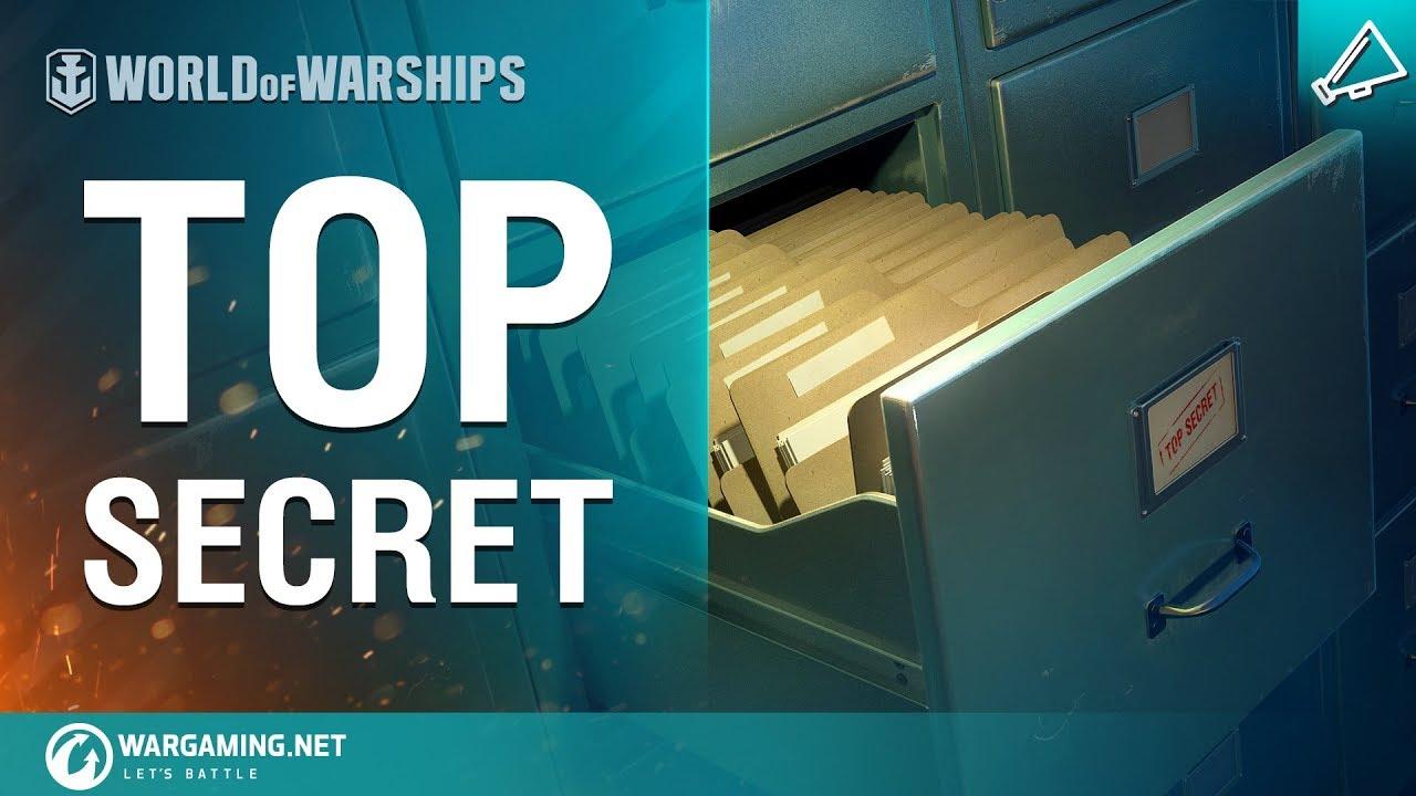 World of Warships – Top Secret