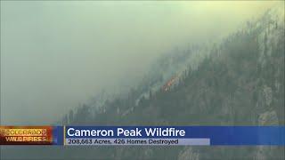 Snow Helps Crews Fight Cameron Peak Fire, Concerns Grow Over Warm, Dry Forecast