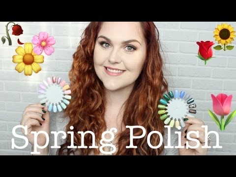 Top 10 Nail Polishes for Spring!!