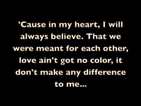 Kevin Michael - It Don't Make Any Difference lyrics