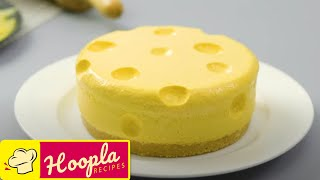 Tom & Jerry Emmental Cheesecake Recipe | Hoopla Recipes