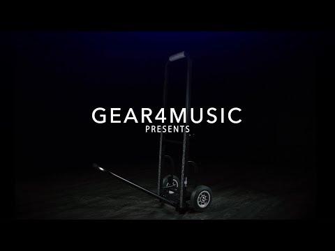 Adjustable Equipment Trolley By Gear4music   Gear4music Demo