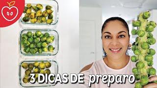 COMO FAZER COUVE DE BRUXELAS - 3 DICAS DE PREPARO   Emagrecer Certo