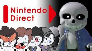 "Nintendo Direct 9/4/19 ""Highlights"" - SANS UNDERTALE 💀 (FLASHING IMAGES WARNING)"