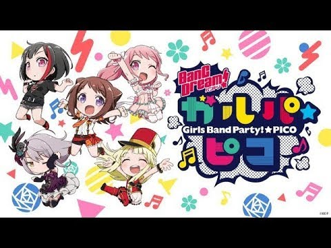 BanG Dream! Girls Band Party!☆PICO Episode 1 (with English subtitles)