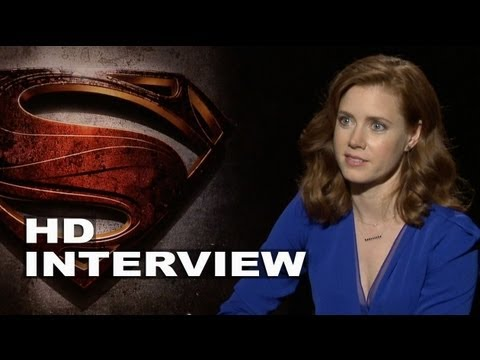 Man of Steel: Amy Adams Interview