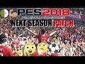 PES17 Next Season PATCH 2018 | Telecharger&Installer PC Gratuit