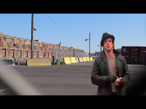 ROCKY Filming Locations YOU'VE NEVER SEEN BEFORE in 2020 and some DESTROYED - Philadelphia