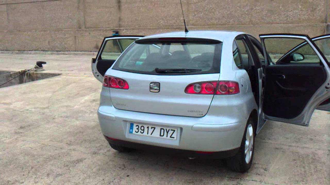 2006 seat ibiza 1 9tdi sport 5dr lhd in spain for sale. Black Bedroom Furniture Sets. Home Design Ideas