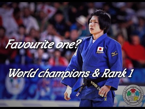 Favourite One? - World Champions & Rank 1 (Female Version) - JudoWorld柔道