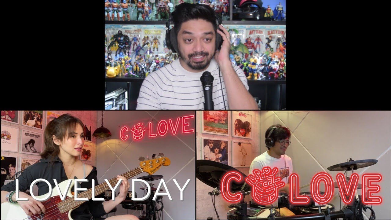 Lovely Day (Bill Withers) | Cover by Jennylyn Mercado & Dennis Trillo feat. Nyoy Volante W/3rd Ave