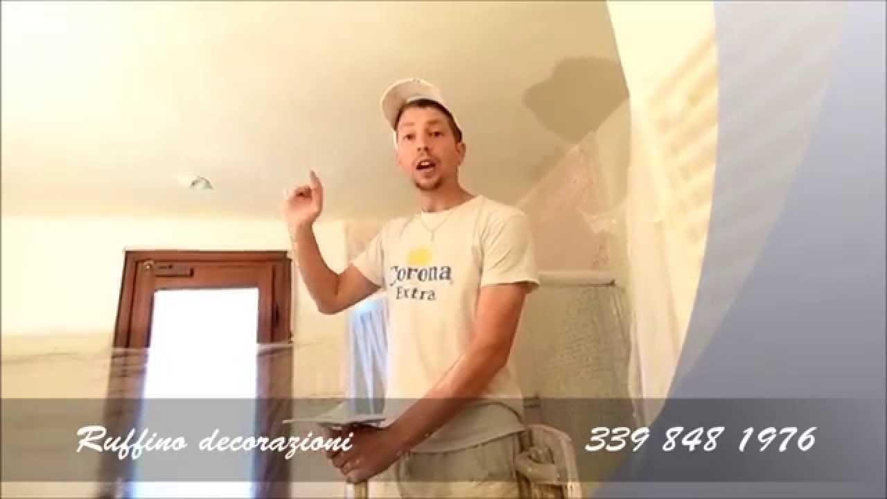 Ruffino decorazioni restauro pareti bagno con la calce youtube - Decorazioni pareti bagno ...