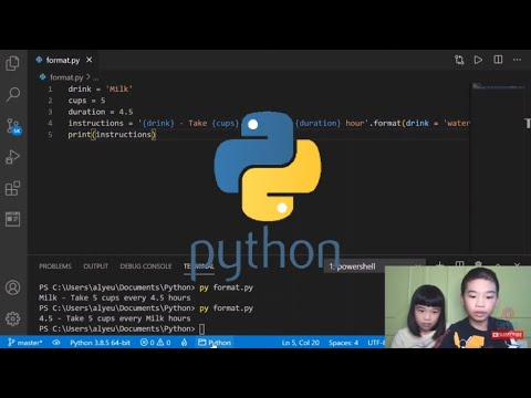 How to Code PYTHON: Use the format() Helper Function - Manipulate and Format String Data for Display