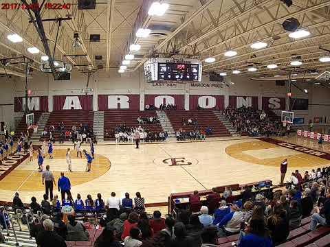 Elgin High School 45 (White) vs. Larkin High School 43 (Blue); January 11, 2018; Part 2