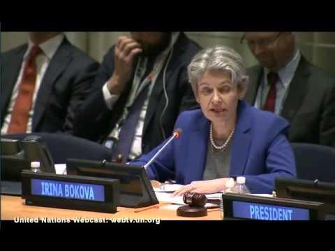 Irina Bokova Opening remarks