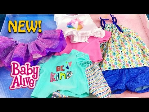 Baby Alive Clothes At Toys R Us Adorable New Baby Alive Doll Mix N Match Outfit Set From Toys R Us Unboxing