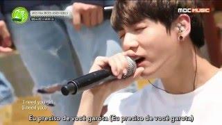 Video BTS - I NEED U @Picnic Live MBC [Legendado PT-BR] download MP3, 3GP, MP4, WEBM, AVI, FLV Juli 2017
