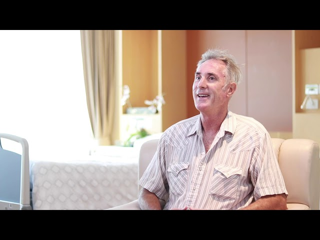 Mr. Michael Hoskin - Colonoscopy Patient