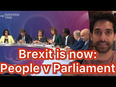 British Voters Take Down Remainer Politicians on Live TV
