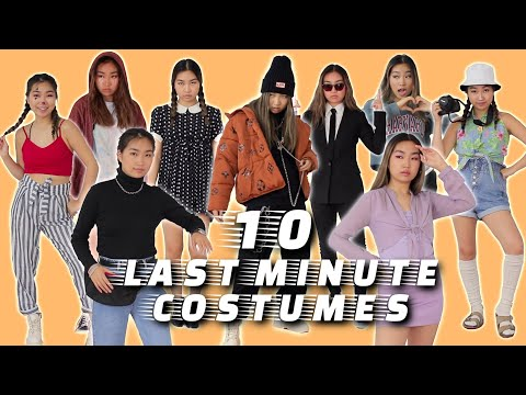 10 Last Minute Costumes You Can Wear After Halloween (from clothes u already have)   JENerationDIY