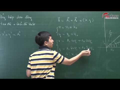 Vật lí 12 - Bài giảng Tổng hợp dao động điều hòa phần 1 Mclass.vn