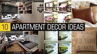 10 Apartment decor ideas