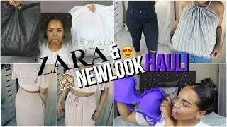 ZARA & NEW LOOK SUMMER TRY ON HAUL 2016 | Honor Danns