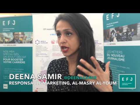 Interview of Deena Samir and Abanoub Emad, Al-Masry Al-Youm (Égypte),  #4MParis