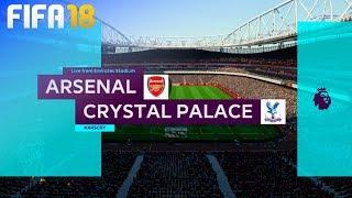 FIFA 18 - Arsenal vs. Crystal Palace @ Emirates Stadium
