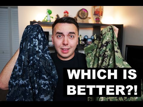 NEW NAVY UNIFORM REVIEW!