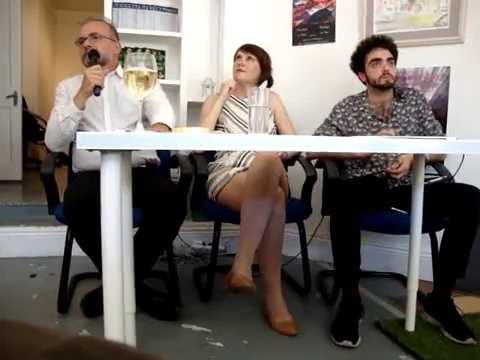 Bulgarian writers @ Renalagh Arts, Centre, Dublin,  16th July 2016.