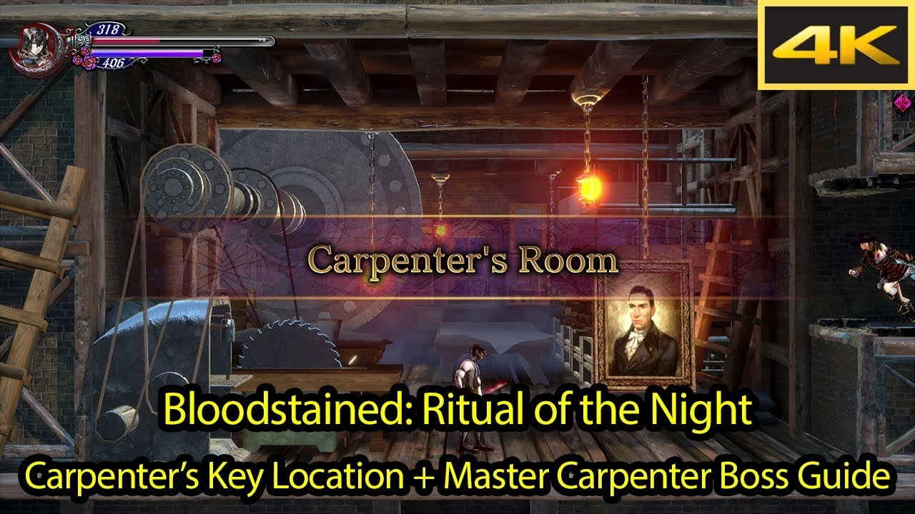 bloodstained carpenter