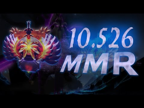 10526 average MMR game HIGHEST EVER in DOTA 2 HISTORY
