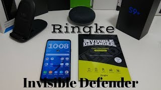 Samsung Galaxy S9 Plus Ringke Invisible Defender Screen Protector
