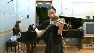 Barber Violin Concerto, 1st movement