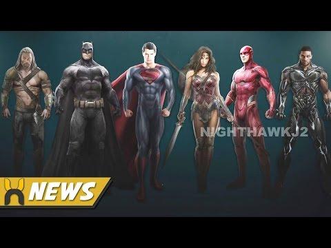 Justice League Concept Art: Flash & Cyborg Costumes REVEALED