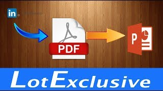 How to download presentation slides from slideshare and convert it into ppt | convert pdf to ppt
