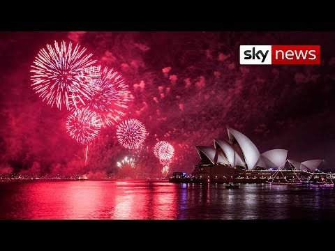 Watch: Moment Australia welcomes in 2019