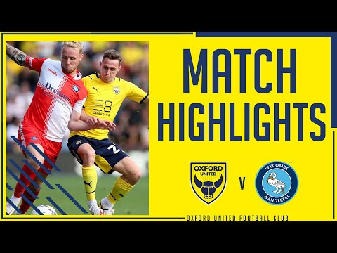 Oxford Utd Wycombe Goals And Highlights