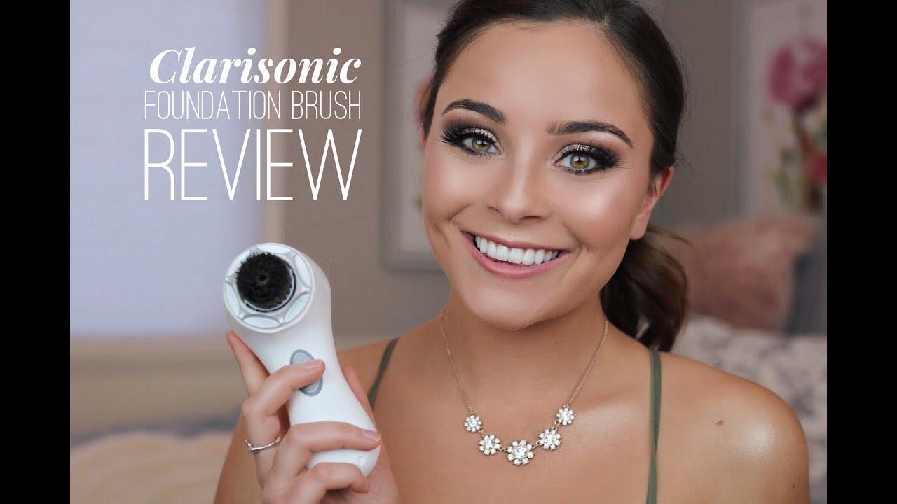Clarisonic Foundation Brush Review Youtube