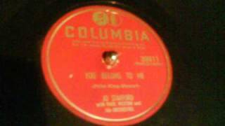 Jo Stafford-You Belong To Me 1952 78 RPM