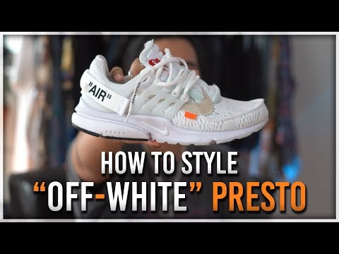 How to Style OFF WHITE PRESTO
