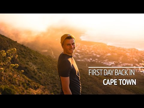 FIRST DAY BACK IN CAPE TOWN
